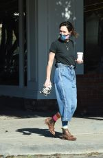 LENA HEADEY Out in Los Angeles 01/18/2021