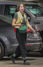 LENA HEADEY Out Shopping in Sherman Oaks 01/07/2021