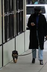 LILI REINHART Out with Her Dog in Vancouver 01/30/2021