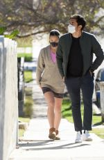 LIV LO and Henry Golding Out in Los Angeles 01/11/2021