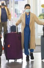 LUCY HALE at JFK Airport in New York 01/01/2021