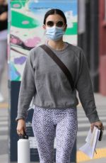 LUCY HALE Heading to a Gym in Los Angeles 01/24/2021