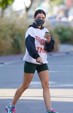 LUCY HALE Out for Coffee in Los Angeles 01/06/2021