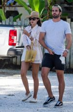 LUCY WATSON Out and About in Barbados 01/01/2021