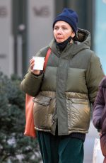 MAGGIE GYLLENHAAL Out in New York 01/21/2021