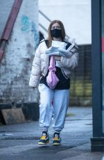 MAISIE SMITH Out and About in London 01/16/2021