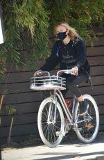 MALIN AKERMAN Out Riding a Bike in Los Feliz 01/09/2021