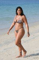 MALIN ANDERSSON in Bikini at a Beach in Dubai 01/03/2021