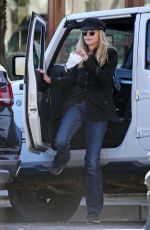 MEG RYAN Out and About in Los Angeles 01/09/2021