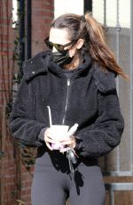 MEGAN CAMPER Out for Coffee in Los Angeles 01/27/2021