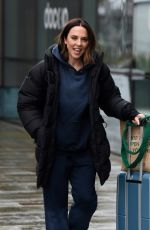 MELANIE CHISHOLM Leaves a TV Studios in Manchester 01/23/2021