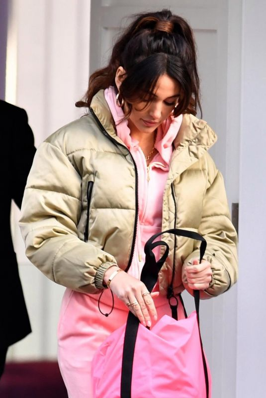 MICHELLE KEEGAN on the Set of Brassic 01/18/2021