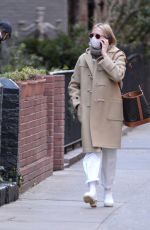 MICHELLE WILLIAMS Out and About in New York 01/24/2021
