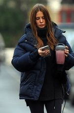 MILLIE MACKINTOSH Out in London 01/15/2021