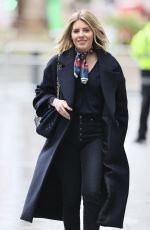 MOLLIE KING Arrives at BBC Radio 1 in London 01/16/2021