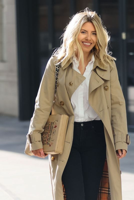MOLLIE KING Arrives at BBC Studios in London 01/22/2021