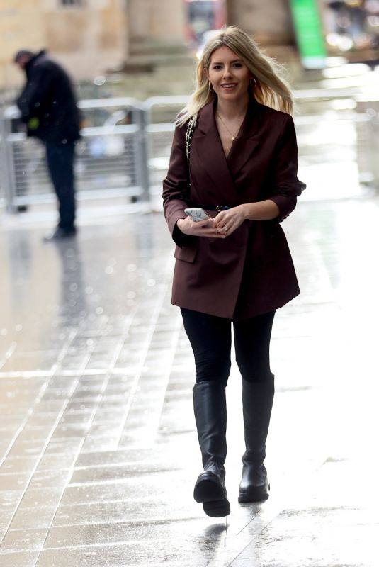 MOLLIE KING Arrives at BBC Studios in London 01/29/2021