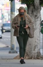 MOLLY SIMS Waring a Face Mask Out in Santa Monica 01/05/2021