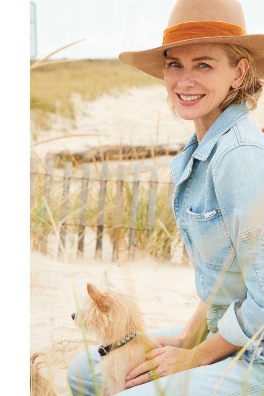 NAOMI WATTS in Hamptons Magazine. Holiday 2021