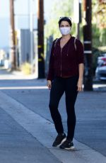 NEVE CAMPBELL Out and About in Los Angeles 01/11/2021