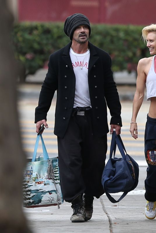 NICKY WHELAN and Frank Grillo Leaves a Boxing Gym in Los Angeles 01/26/2021