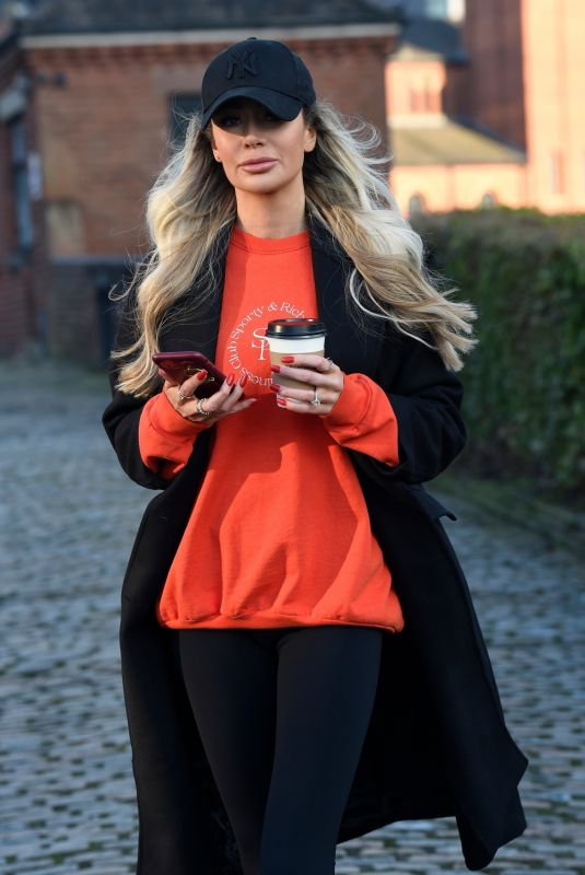 OLIVIA ATTWOOD Out and About in Manchester 01/09/2021