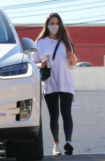 OLIVIA MUNN Leaves a Gym in Los Angeles 01/11/2021