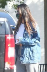 OLIVIA MUNN Leaves a Gym in West Hollywood 01/14/2021