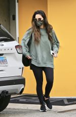 OLIVIA MUNN Leaves a Gym in West Hollywood 01/22/2021