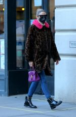 OLIVIA PALERMO Out and About in Brooklyn 01/24/2021
