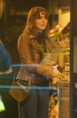 OPHELIA LOVIBOND on the Set of a Series in London 01/23/2021