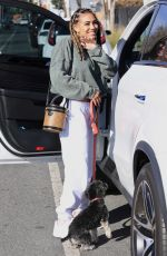 PAIGE HURD Out and About in West Hollywood 01/24/2021