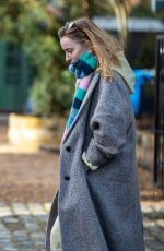PHOEBE DYNEVOR Out in Manchester 01/22/2021