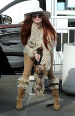PHOEBE PRICE at Petco in Los Angeles 01/20/2021