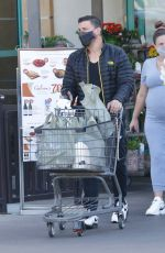 Pregnant BRITTANY CATWRIGHT Out Shopping in Los Angeles 01/21/2021