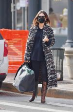Pregnant EMILY RATAJKOWSKI Out and About in New York 01/14/2021