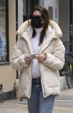 Pregnant EMILY RATAJKOWSKI Out in New York 01/13/2021