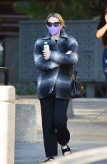 Pregnant EMMA ROBERTS Out in Los Angeles 01/11/2021