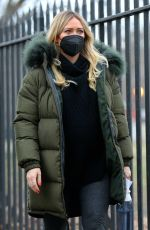 Pregnant HILARY DUFF on the Set of Younger in New York 01/09/2021
