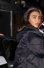Pregnant LAUREN GOODGER Out in Essex 01/24/2021
