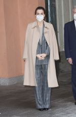QUEEN LETIZIA OF SPAIN at Women and Engineering Meeting in Madrid 01/26/2021