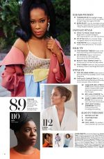 REGINA KING in Instyle Magazine, February 2021