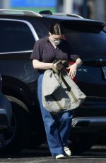 RONNEY MARA Out Shopping for Grocery in Los Angeles 01/19/2021