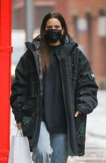 ROSALIA Out and About in New York 01/26/2021