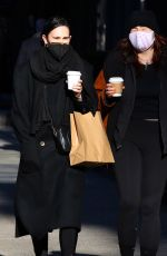RUMER WILLIS Out for Coffee in New York 01/10/2021