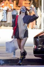 SCOUT WILLIS Out Shopping with Her Dog in West Hollywood 01/21/2021