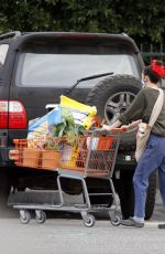 SCOUT WILLIS Shopping at Home Depot in Los Angeles 01/20/2021