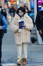 SELENA GOMEZ Heading to Only Murders in the Building Set in New York 01/19/2021