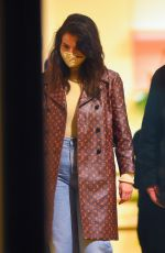 SELENA GOMEZ Out Shopping in New York 01/25/201