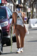 SELMA BLAIR Leaves Coffee Bean & Tea in Studio City 01/26/2021